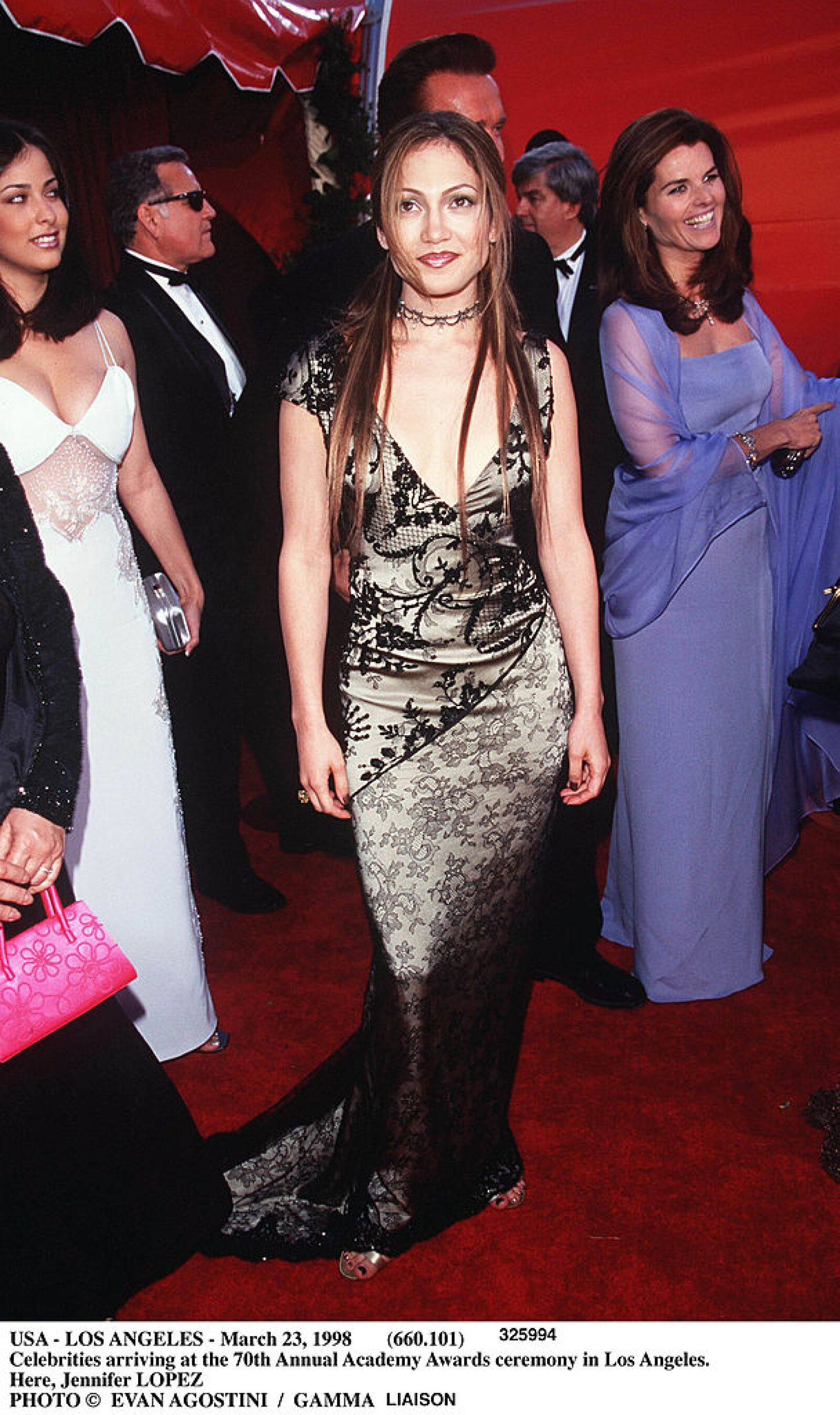 Los Angeles March 23 1998 -660 101 Celebrities Arriving At The 70Th Annual Academy Awards