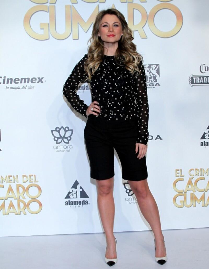 Ludwika Paleta quiere seguir haciendo cine y afirma que buscar ser una mejor actriz.