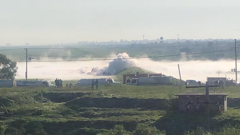 Fuga de gas Nextlalpan