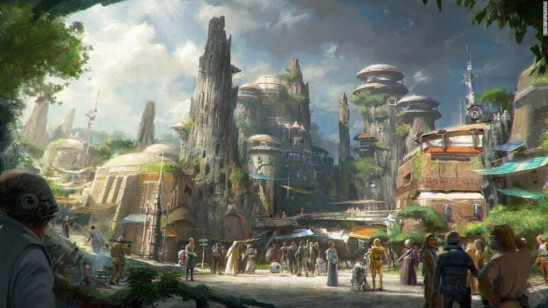 Star Wars Land, Disney (Florida y California, Estados Unidos)