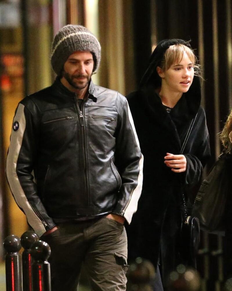 Bradley y Suki viajaron hace unos días a París.