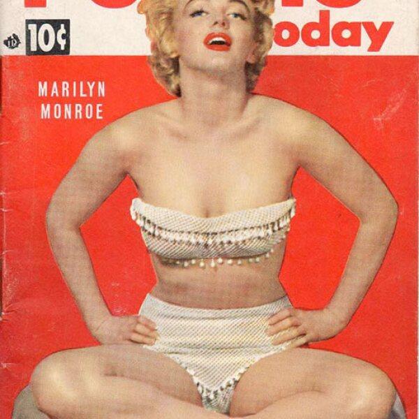 People, julio 1953: Marilyn Monroe lució espectacular en la portada de People.