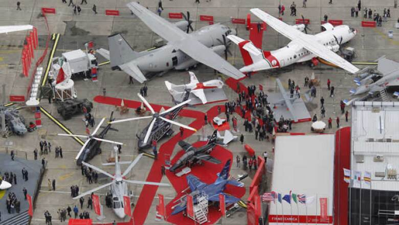 La Exhibición Aérea de París es la muestra de aviones más grande y más antigua del mundo; inicia este lunes y acaba el domingo 26.