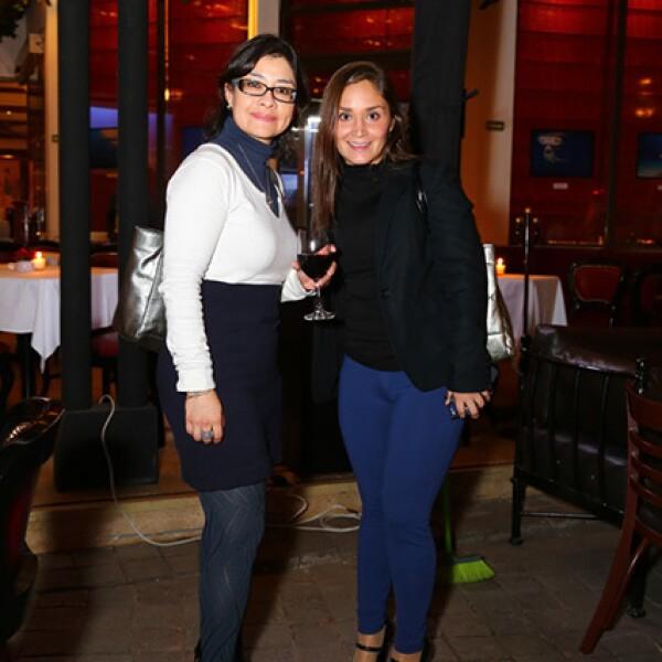 María Antonieta Mina y Elsa Becerril