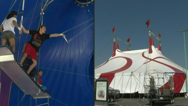 """Artistas de circo en México están en la """"cuerda floja"""" por el coronavirus"""