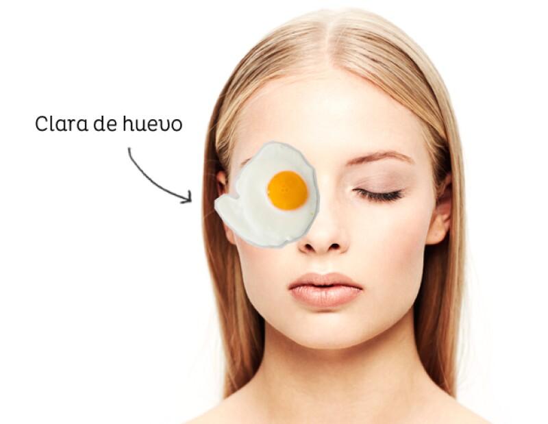La clara de huevo tiene un alto contenido en vitamina B que ayuda a la circulación de la sangre.
