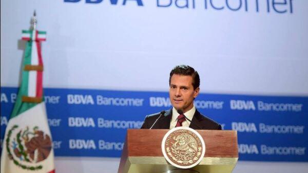 El mandatario indicó durante su mensaje en la Reunión Nacional de Consejeros de BBVA Bancomer 2016 que trabajará con los ganadores de las votaciones del 5 de junio, sin distingo alguno.