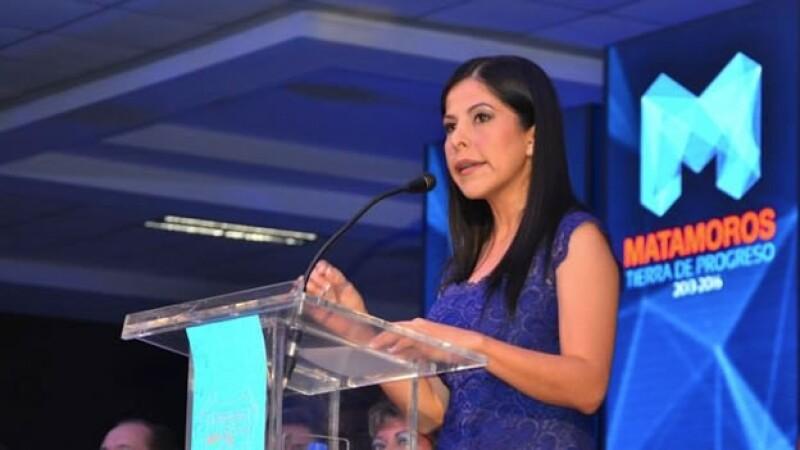 La alcaldesa de Matamoros no solicitará escoltas de seguridad extra tras ser atacada a balazos el domingo
