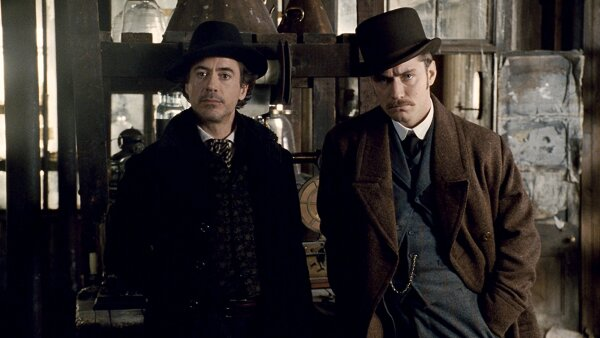 Robert Downey Jr. y Jude Law