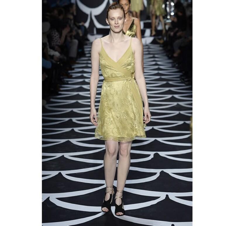 El vestido `wrap´ está inspirado en los outfits de las ballerinas.