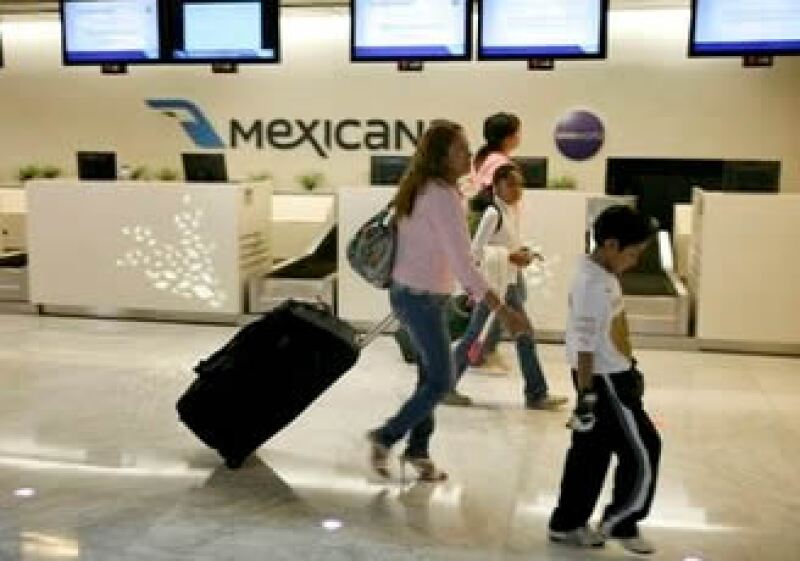 Mexicana enfrenta serios problemas financieros para poder seguir operando. (Foto: AP)