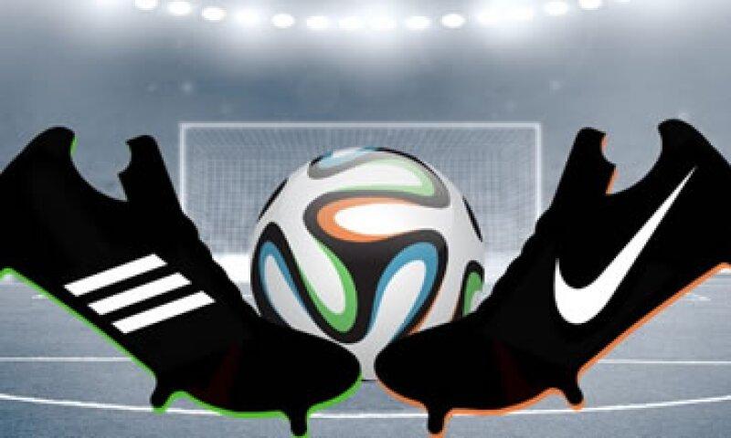 Adidas patrocina a jugadores como Lionel Messi mientras que Nike está detrás de Cristiano Ronaldo. (Foto: Especial)