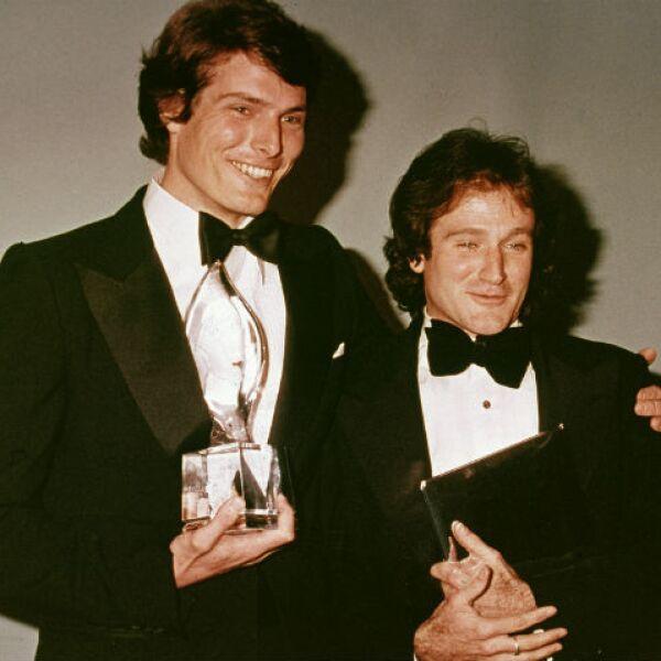 Christopher Reeve fue roommate de Robin cuando estudiaban en Juilliard.