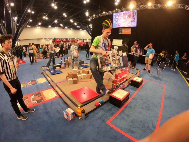 Robots que cambian el chip