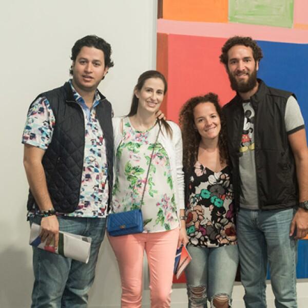 Jacobo Ruhane,Claudia Olvera,Daniela Mena y Héctor Terán