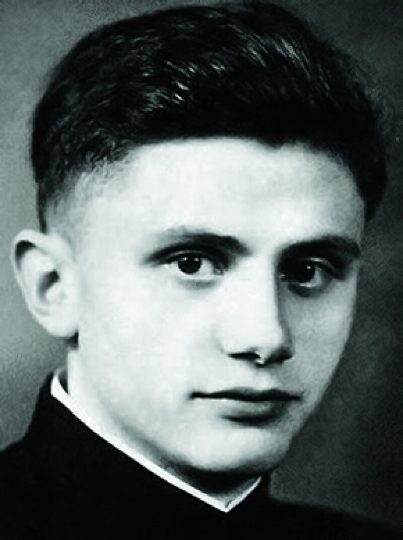 Joseph Ratzinger entró al seminario 1939.