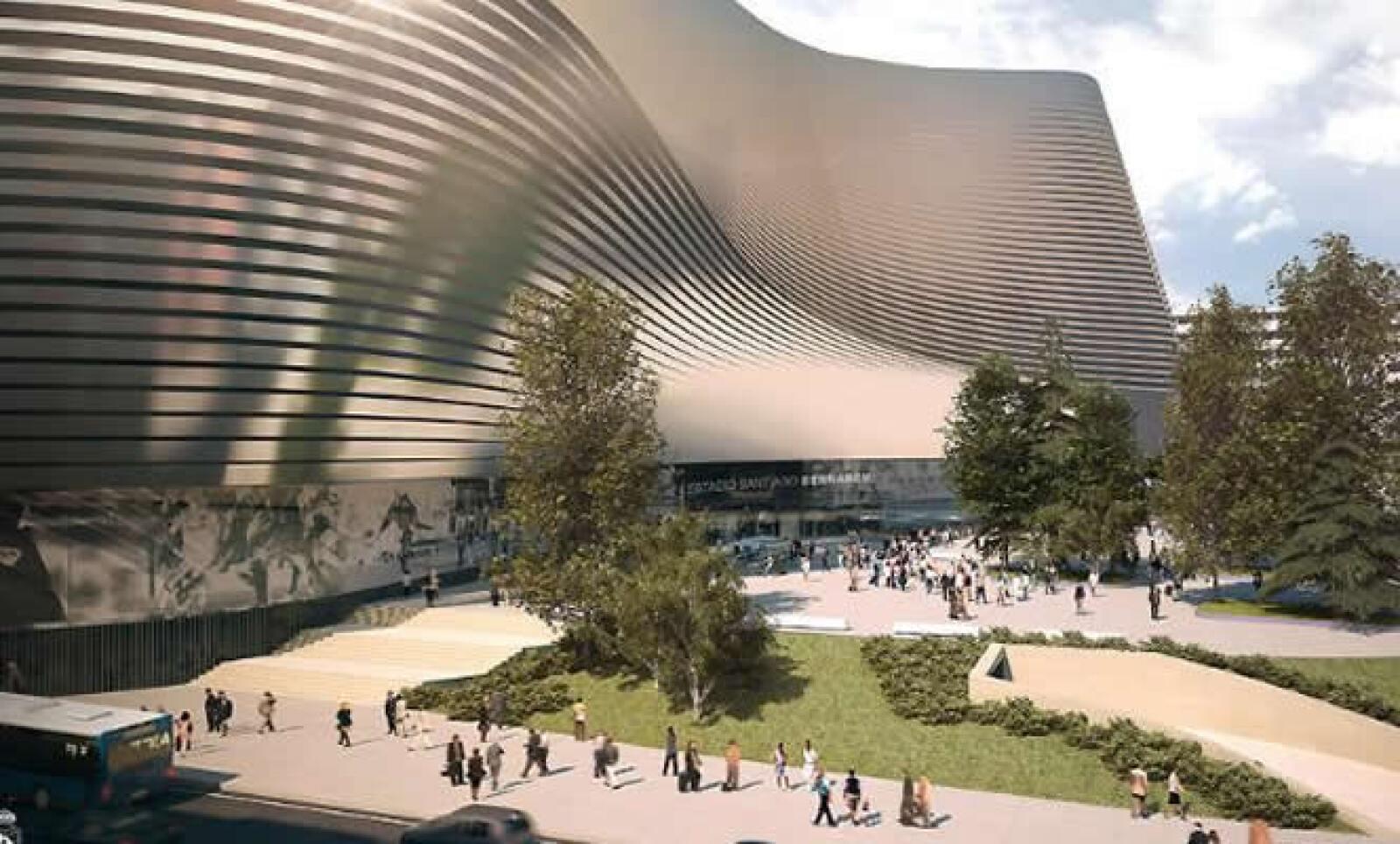 El estadio tendrá una cubierta retráctil que podrá abrirse y cerrarse en sólo 15 minutos y un marcador electrónico de 360 grados.