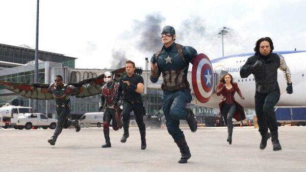 La insurgencia encabezada por el Capitán América también se reflejó en las taquillas del extranjero.