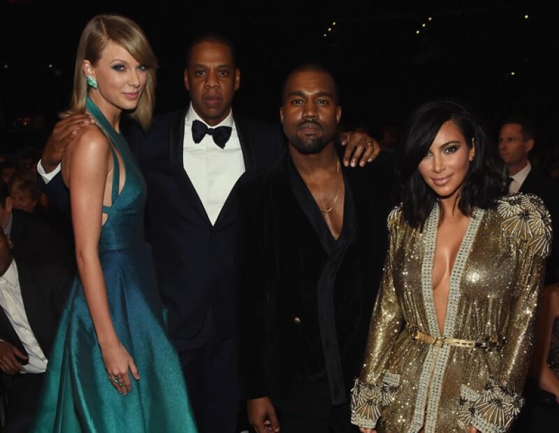 El esposo de Beyoncé fue una pieza clave en la reconciliación de los dos cantantes, luego de que el esposo de Kim Kardashian interrumpiera el discurso de Taylor en los premios MTV del 2009.