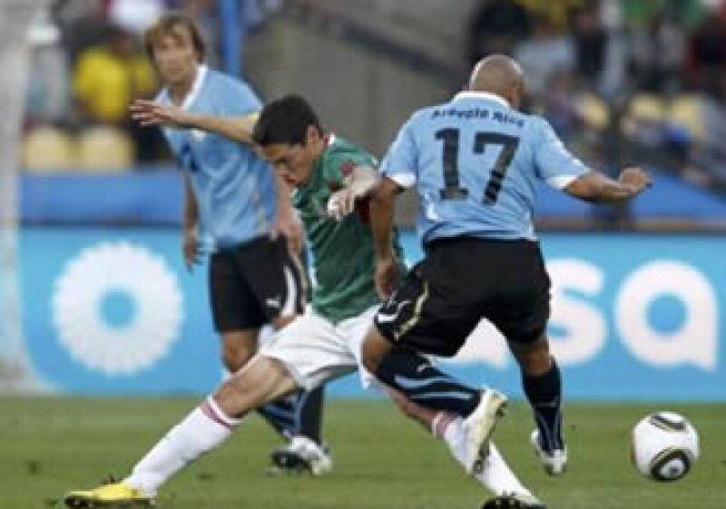 México perdió este martes ante la selección de Uruguay. (Foto: Reuters)