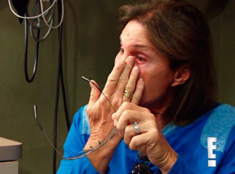 El patriarca de las Kardashian Jenner no pudo evitar llorar al saber que ya no era el albacea de Kris.