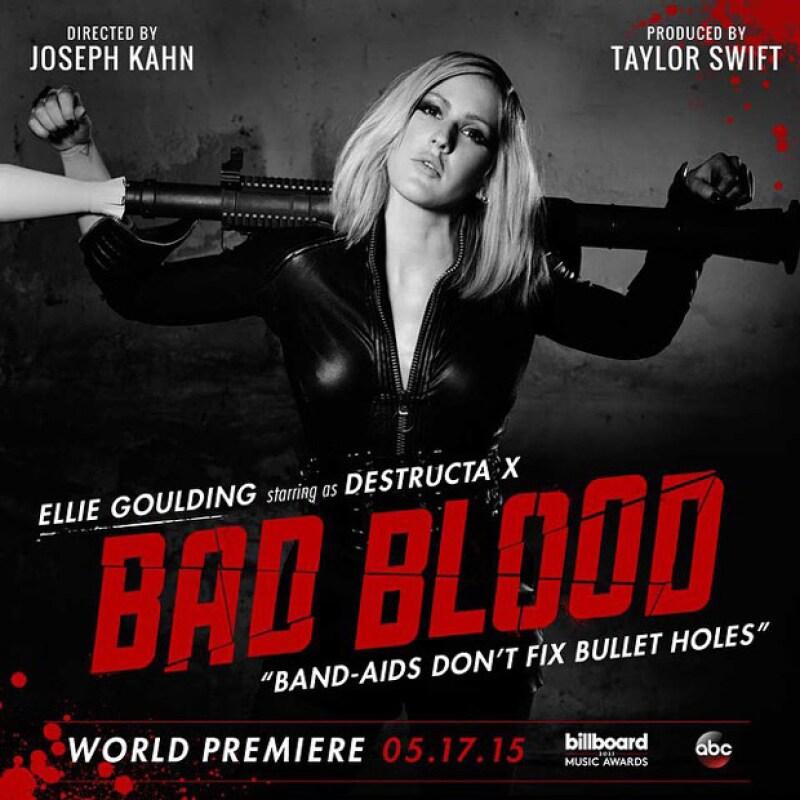 La bff de Taylor, Ellie Goulding, también participará en el video, el cual sale el próximo domingo.