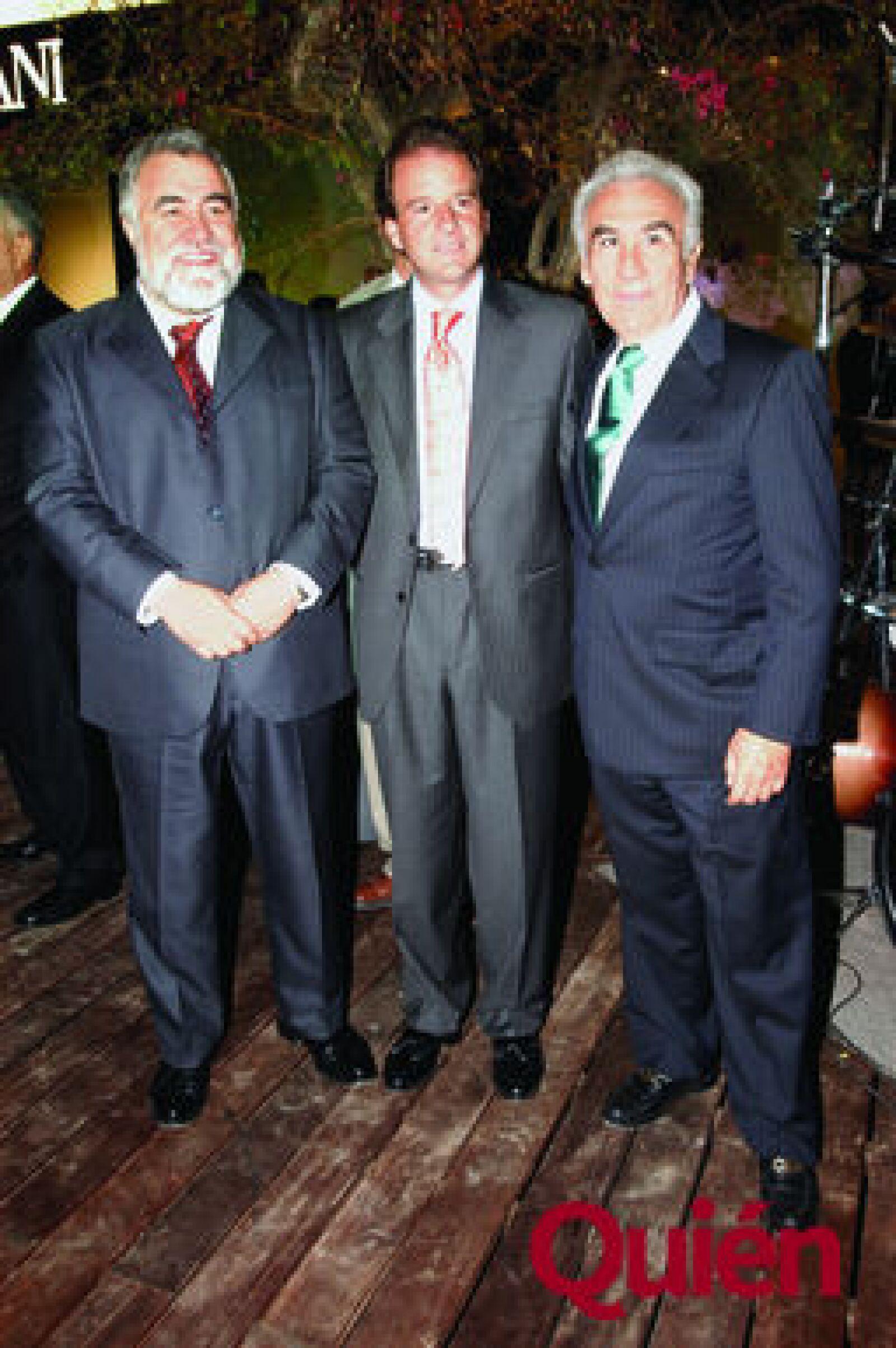 Alejandro Encinas, Javier Garcia Herrera, Gabriel Alarcón