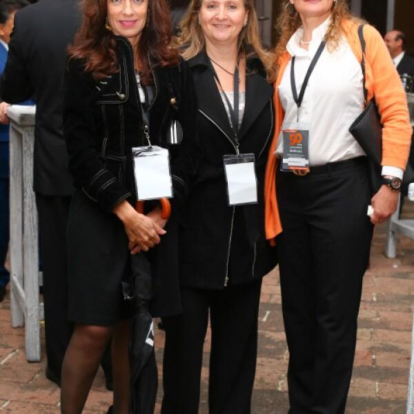 Patricia Allende, María Eugenia Treviño y María Antonieta Lanz.