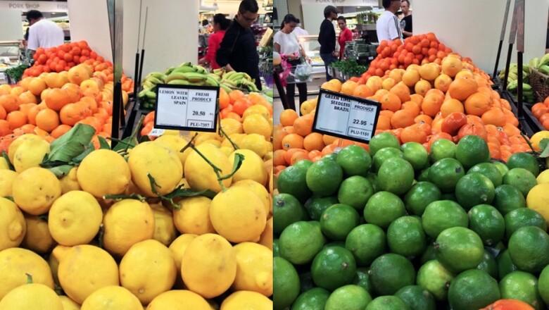 limon precio dubai
