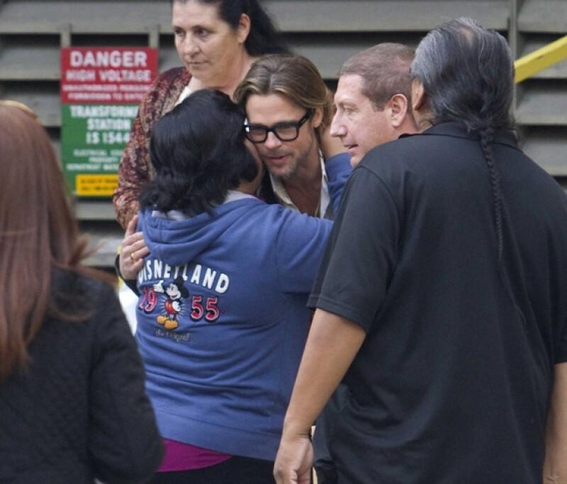 Brad perdió el Globo de Oro a Mejor Actor ante su amigo George Clooney.