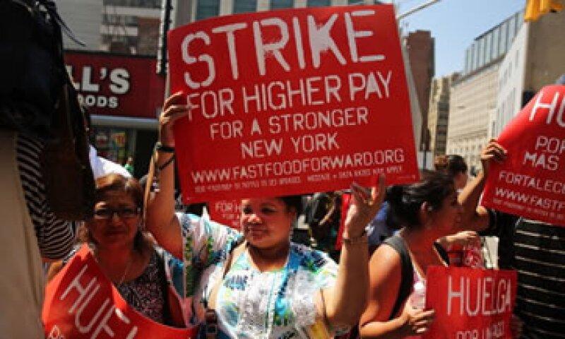 La cadena de comida rápida Wendy's se vio envuelta en protestas por los malos sueldos y jornadas largas.  (Foto: Getty Images)