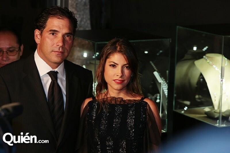 Pablo Escudero y Sylvana Beltrones en la gala.