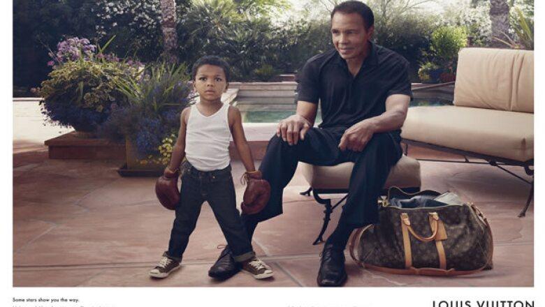 Y para cerrar con broche de oro: Mohamed Ali y su nieto Curtis.