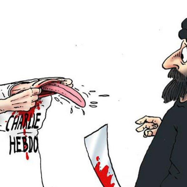 Entre los fallecidos se encuentran los dibujantes Charb, Wolinski, Cabu y Tignous.