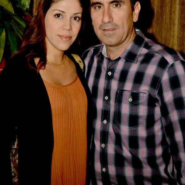 Beba Ramírez de Gutiérrez y Alejandro Gutiérrez