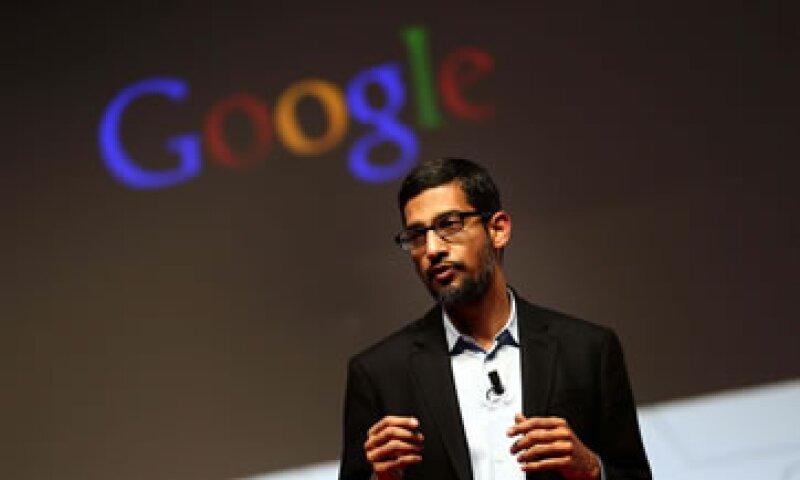 Pichai se unió a Google en 2004 y en octubre se convirtió en el vicepresidente senior. (Foto: EFE)