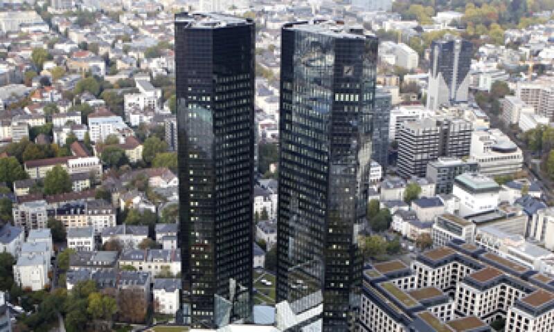 La sede de Deutsche Bank en Fráncfort, Alemania. (Foto: AP)