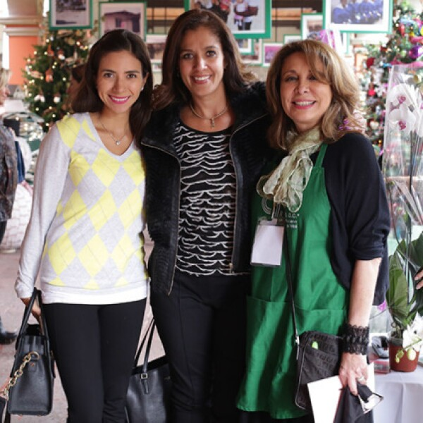 Diana Hernández,Luli Herrera y Clara Poumian