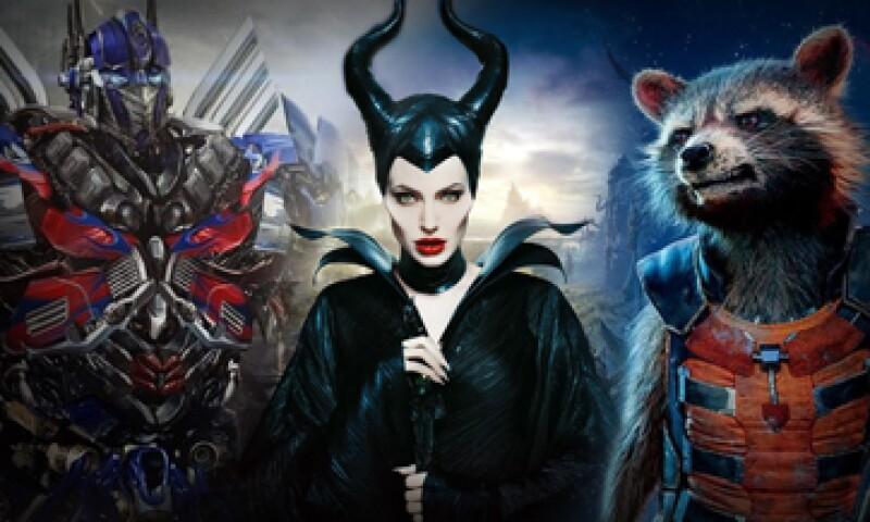 Maléfica, Transformers y Guardianes de la Galaxia estuvieron entre las más vistas. (Foto: Especial )