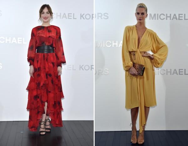Dakota Johnson y Poppy Delevingne fueron de las invitadas VIP a la apertura de la tienda en Tokio.