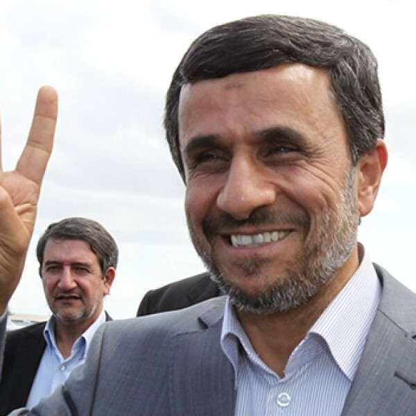 Mahmoud Ahmadinejad llega a Nicaragua
