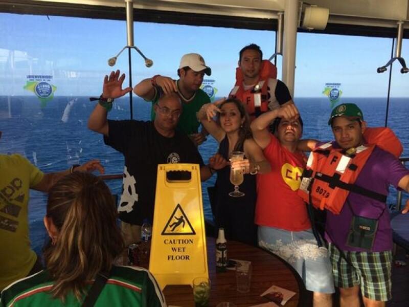Jorge Alberto López Amores es el pasajero que se aventó desde el piso 15 de un crucero en Brasil. Se da a conocer que es hijo de Raciel López Salazar, procurador de justicia de Chiapas.