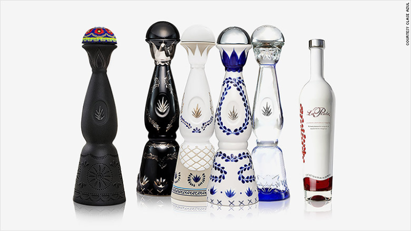 Clase azul tequila botellas