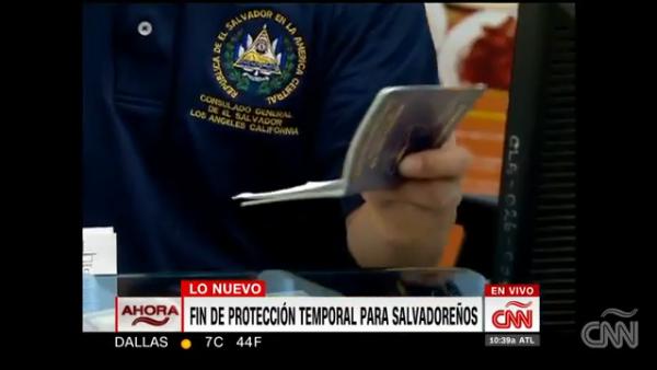 EE.UU. suspende el Estatus de Protección Temporal para El Salvador