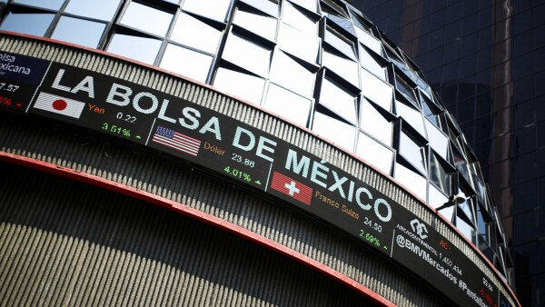 The building of Mexico's stock exchange is pictured after Latin American stocks tanked amid continued concerns over the coronavirus disease (COVID-19), in Mexico City
