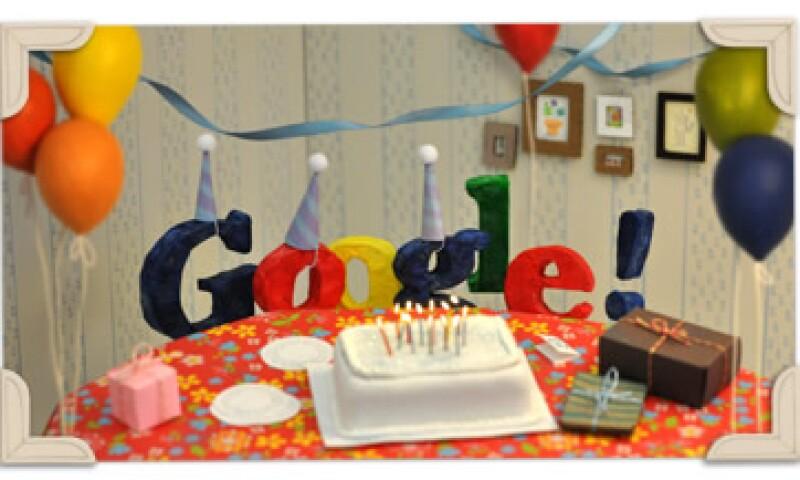 Google.com el 15 de septiembre de 1998, pero celebra su cumpleaños de manera oficial este día. (Foto: Cortesía Google)