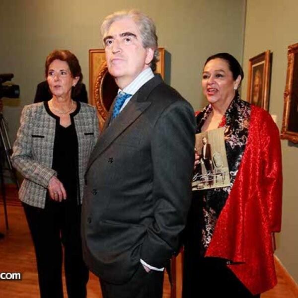 María Cristina Cepeda,Rafael Tovar y de Teresa y Carmen Gaytán