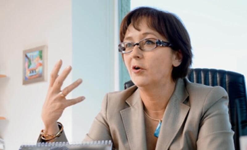 Maslennikova, presidenta de Xerox México, aumentó 35% las ventas. (Foto: Ramón Sánchez Belmont)