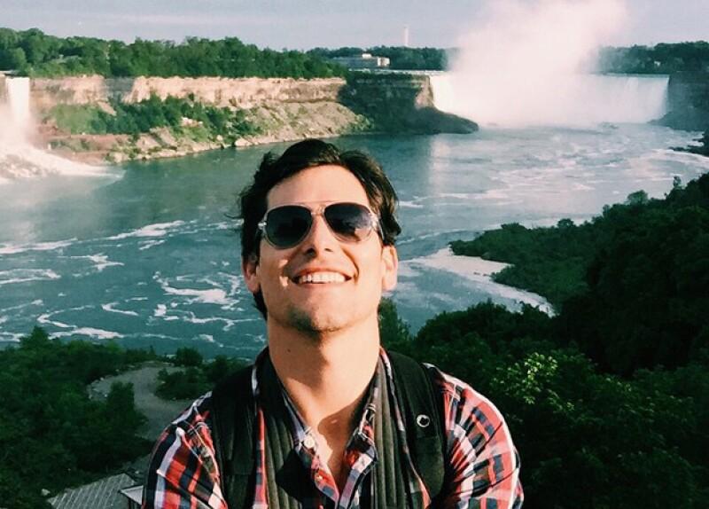 El actor compartió un video en el que deja ver su pasión por viajar, sus palabras fueron emotivas que fue rápidamente compartido en Facebook e inspiró a sus fans quienes se lo hicieron saber.