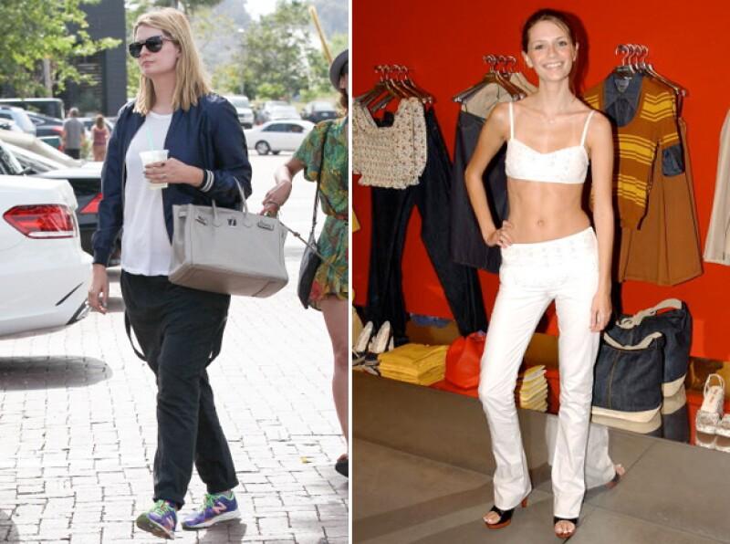 La británica sorprendió con su drastico cambio de peso.